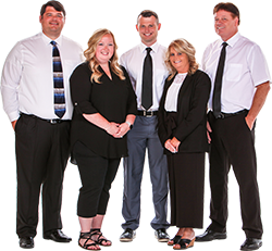 Group photo of The ORR Home Selling Real Estate Team Located in Muncie Indiana